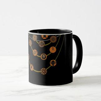 Tribal symbols Combo Mug