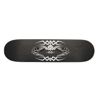 Tribal T-Rex Skulls white 21.3 Cm Mini Skateboard Deck
