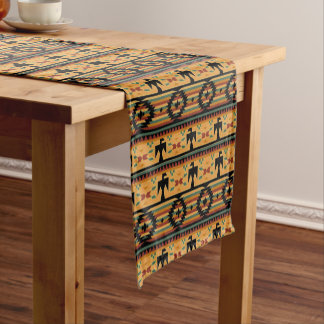 Tribal table runner