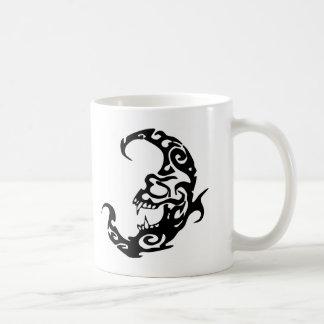 Tribal Tattoo Evil Moon Coffee Mug