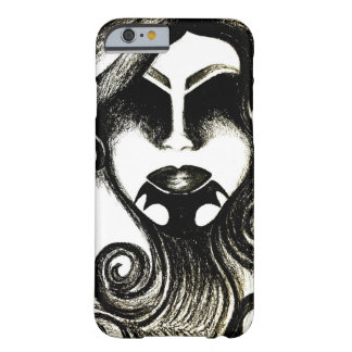 Tribal tattoo lady's face barely there iPhone 6 case