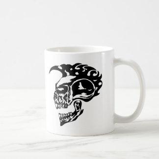 Tribal Tattoo Skull w/ Mohawk Mugs