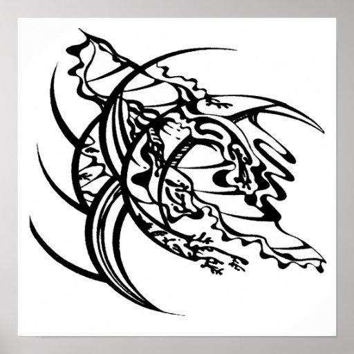 Tribal Tattoo Untitled 2 Poster