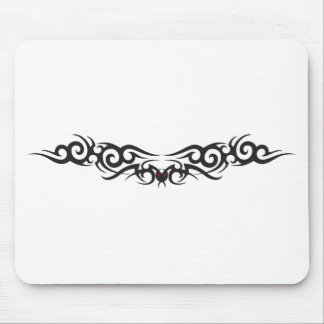 Tribal Tattoo Wing Mouse Mat