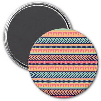 Tribal Texture Stripes Fridge Magnets