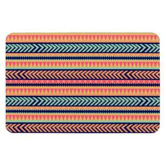 Tribal Texture Stripes Flexible Magnet