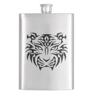 Tribal Tiger Classic Flask