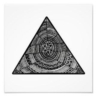 Tribal Triangle Photo Art