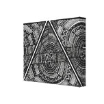 Tribal Triangle Stretched Canvas Prints