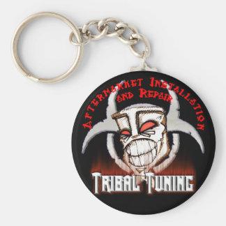 Tribal Tunning Keychain