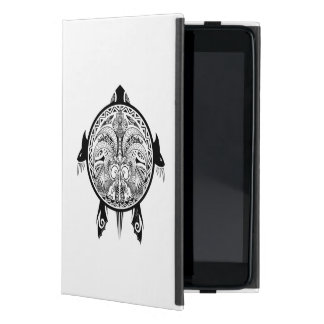 Tribal Turtle Shield Tattoo Case For iPad Mini