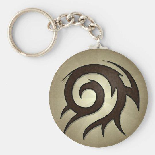 Tribal Twirl Keychain