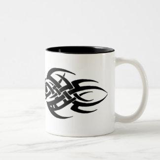 Tribal Two-Tone Coffee Mug