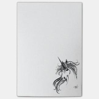 Tribal Unicorn Post-it Notes