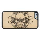 Tribal Urban skull Maple iPhone 6 Bumper Case