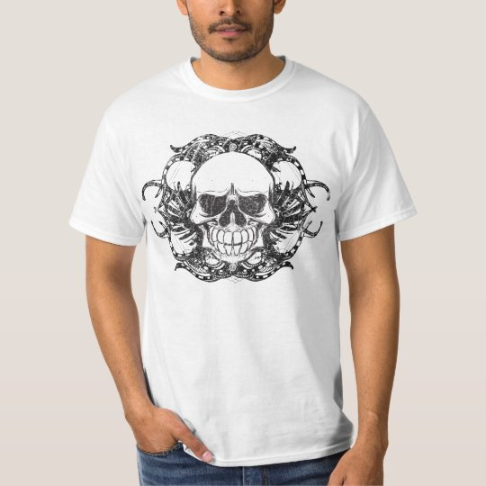 Tribal Urban skull T-Shirt