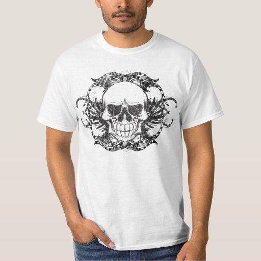 Tribal Urban skull Tee Shirts
