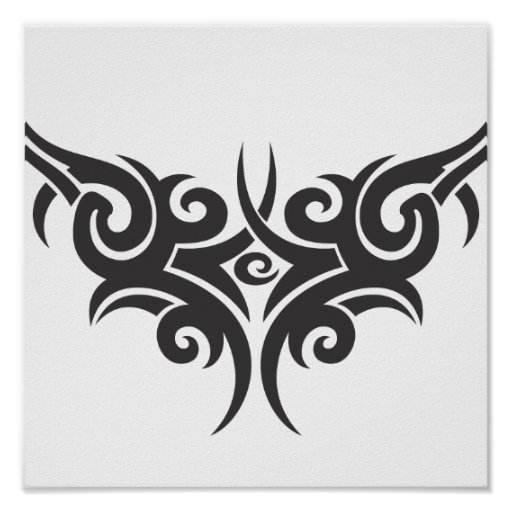 tribal-vector-clipart-5 poster