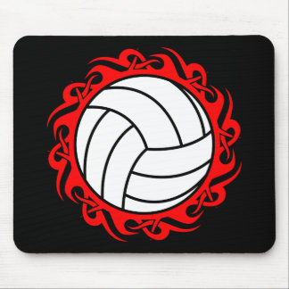 tribal volleyball mouse mat