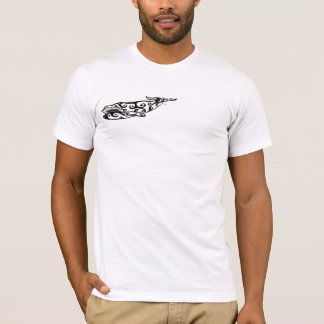Tribal Whale Tattoo 2 T-Shirt