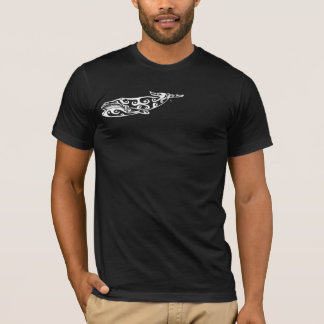 Tribal Whale Tattoo 4 T-Shirt