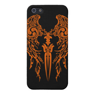 Tribal Wings 1 bronze iPhone 5 Cover