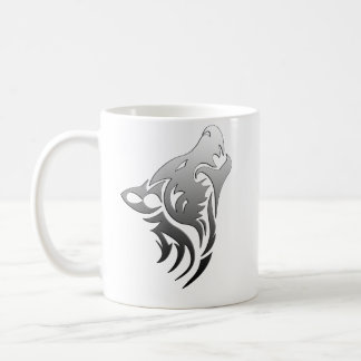 Tribal Wolf Coffee Mug