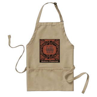 Tribal Women effigy - Aftrican Art Standard Apron