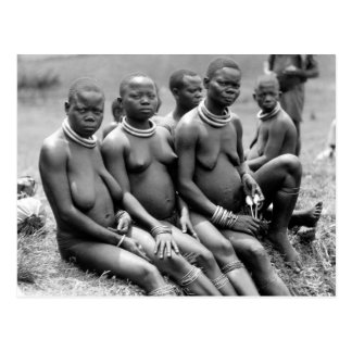 Tribal Women of Uganda Postcard