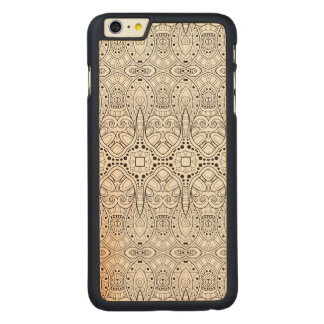 Tribal Zendoodle Design Carved® Maple iPhone 6 Plus Case