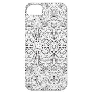 Tribal Zendoodle Design Case For The iPhone 5