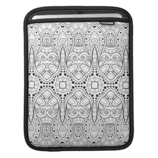 Tribal Zendoodle Design iPad Sleeve