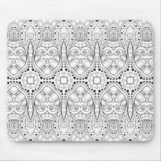 Tribal Zendoodle Design Mouse Mat