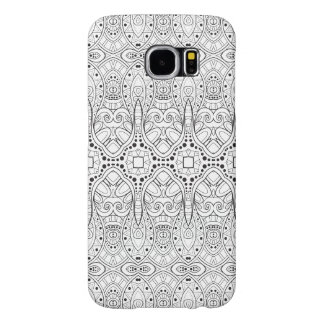 Tribal Zendoodle Design Samsung Galaxy S6 Cases