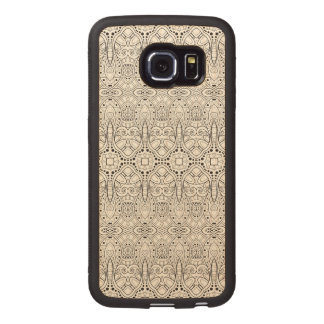 Tribal Zendoodle Design Wood Phone Case