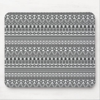 Tribalism Custom Tribal Geometric Pattern Mouse Mat
