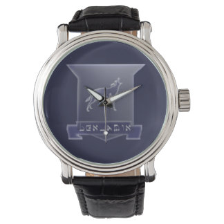 Tribe Of Benjamin Crest Vintage Leather Watch