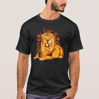 Tribe of Judah Fiery Lion T-Shirt