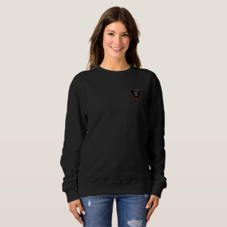 Tribe Of Levi Crest Women's Black Sweater