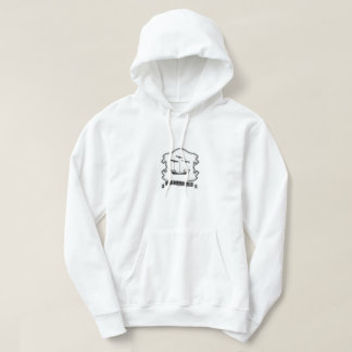 Tribe of Zebulun Crest Mens White Hoodie