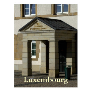 Tribunal d'Arrondissement, Luxembourg Postcard