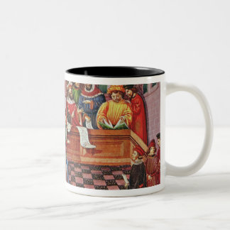 Tribunal of the Scientists Two-Tone Coffee Mug