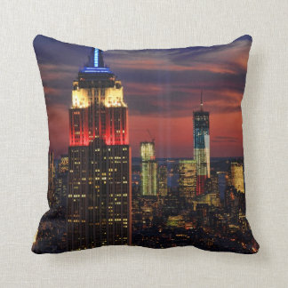 Tribute In Light Sept 11, World Trade Cntr ESB #1 Cushions