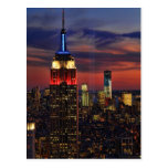 Tribute In Light Sept 11, World Trade Cntr ESB #1 Postcard