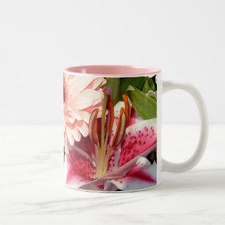 Tribute Lilies | Two-Tone Coffee Mug