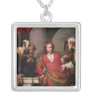 Tribute Money, c.1631 Silver Plated Necklace