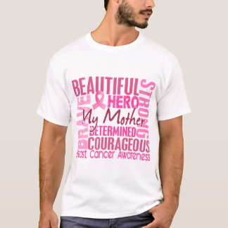 Tribute Square Mother Breast Cancer T-Shirt