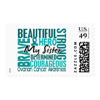 Tribute Square Sister Ovarian Cancer Stamps