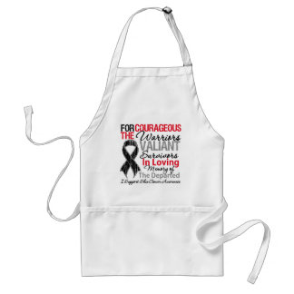 Tribute Support Skin Cancer Awareness Apron