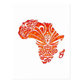 TRIBUTE TO AFRICA POSTCARD